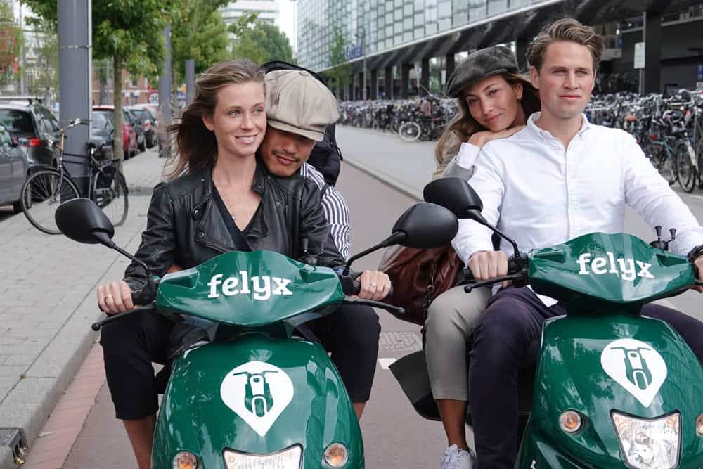 Electric scooter sharing startup felyx comes to Rotterdam 002