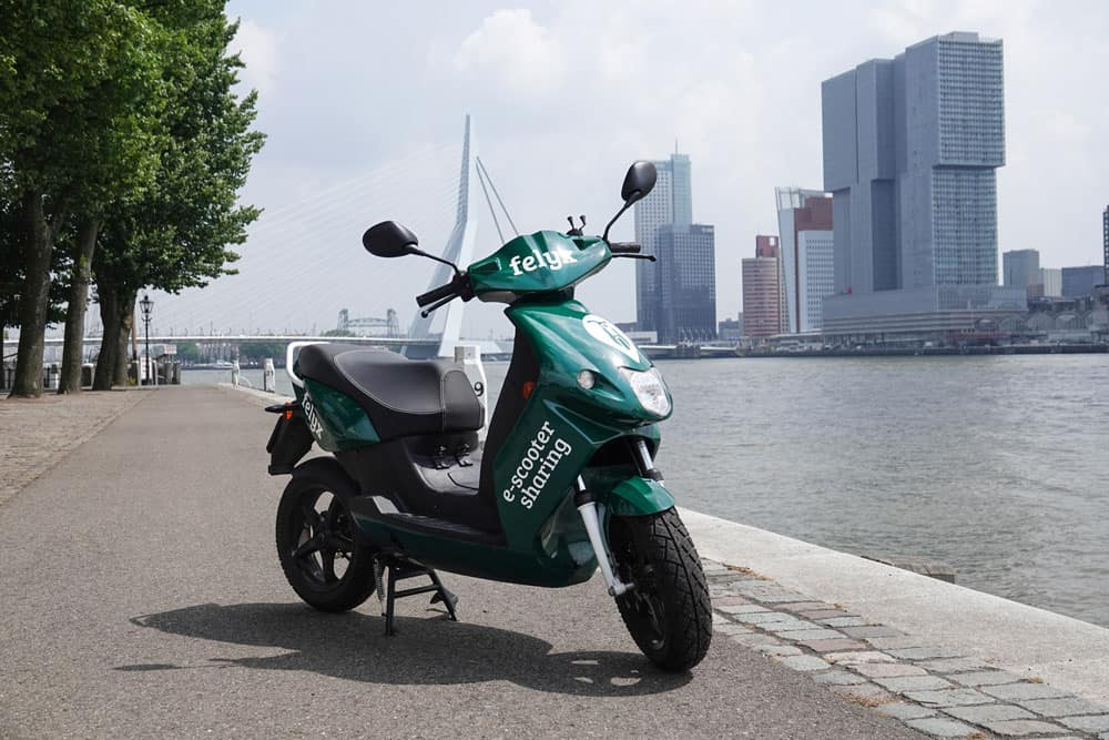 Electric scooter sharing startup felyx comes to Rotterdam 003