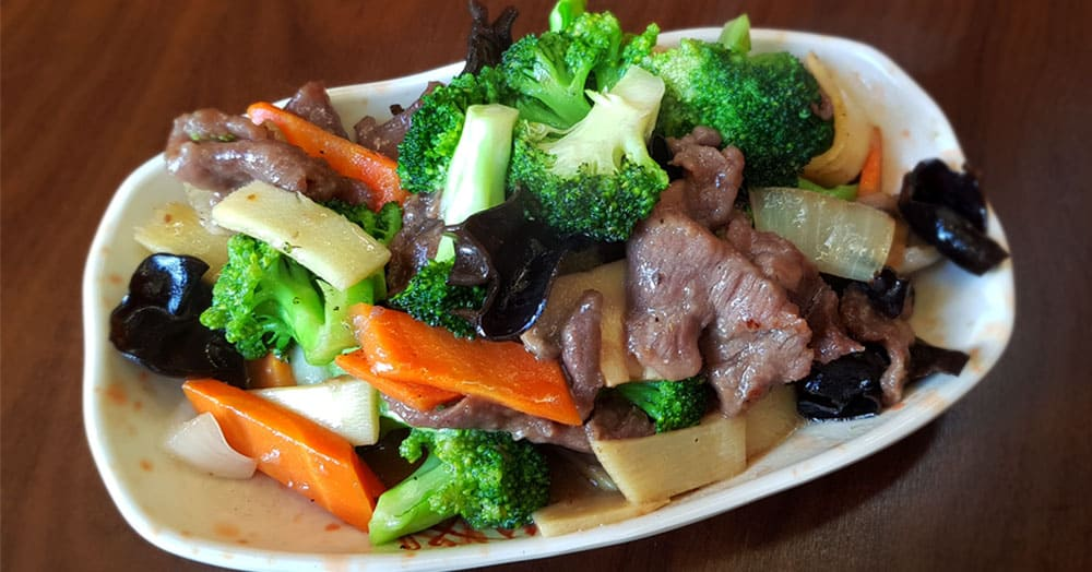 Kiem Foei - Broccoli with beef