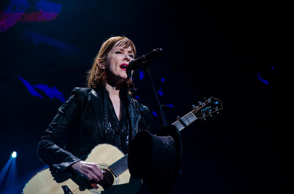 Suzanne Vega performing at Night of the Proms Rotterdam