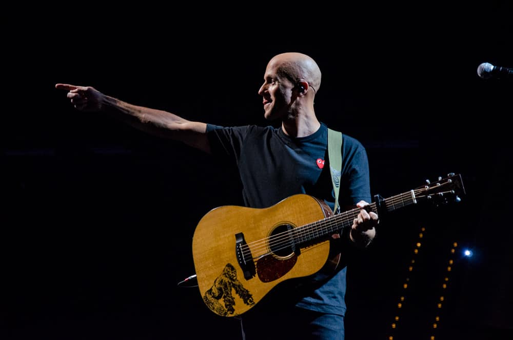 Milow performing at Night of the Proms Rotterdam