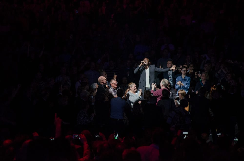 Seal performing at Night of the Proms Rotterdam