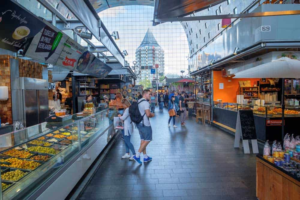 Top foodie areas in Rotterdam