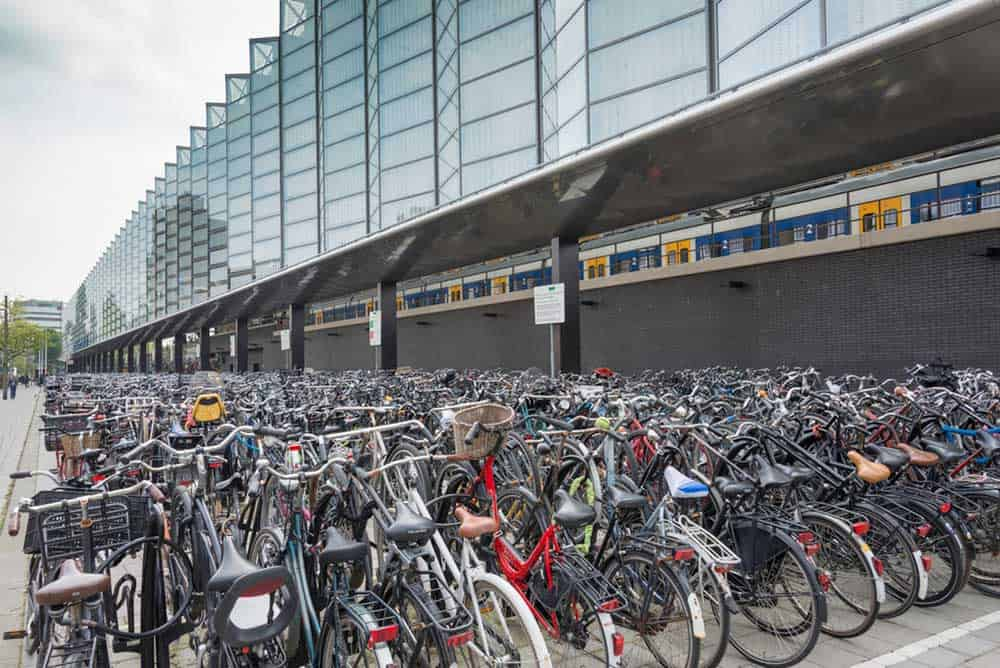 Ambitious plans for bicycle parking in Rotterdam