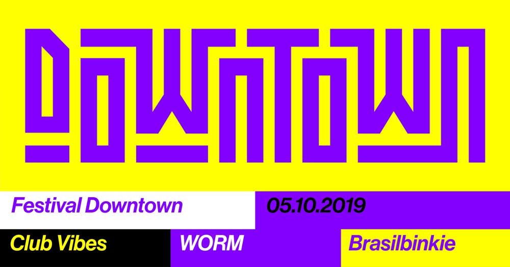 Festival Downtown 2019 event banner