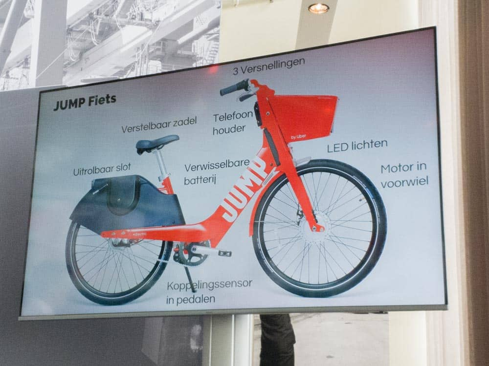 JUMP electric bicycles are now available in Rotterdam