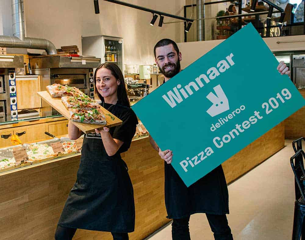 Sugo wins Deliveroo Pizza contest 2019