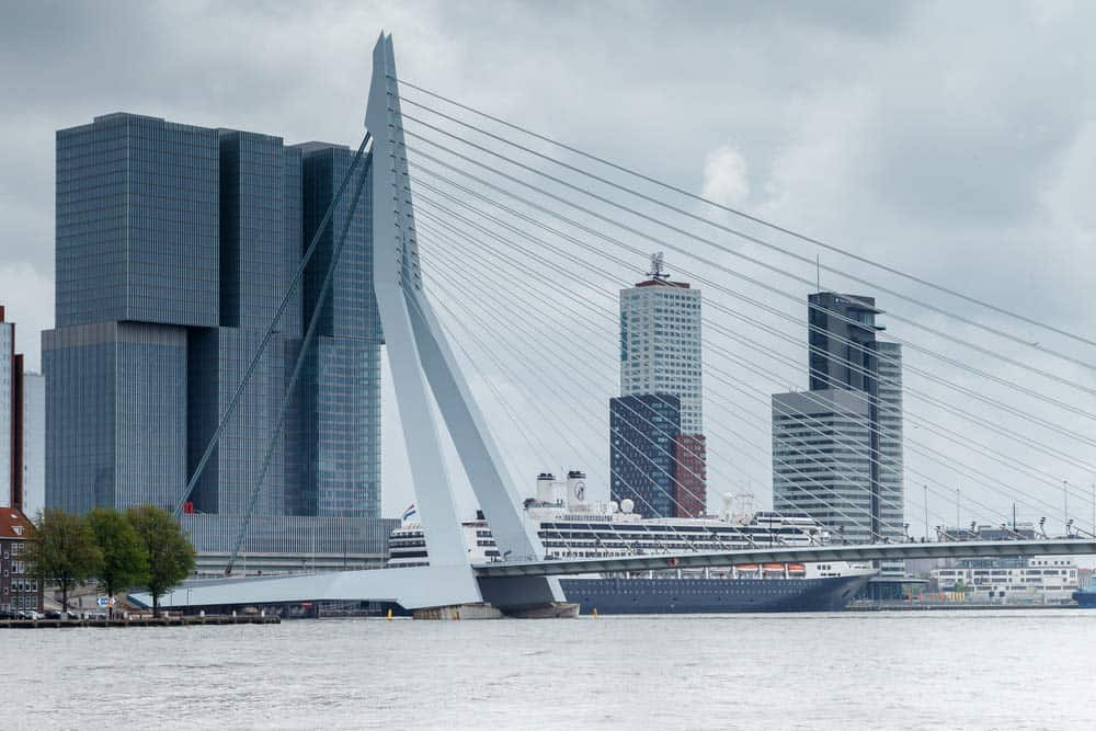 The bridges of Rotterdam