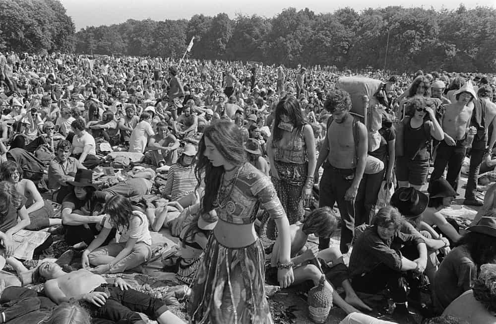Holland Popfestival 1970 took place in Kralingse Bos Rotterdam