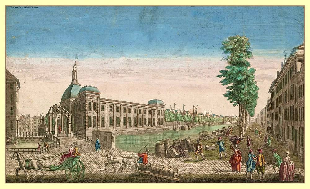 Beurs Rotterdam in 1790 (unknown author)