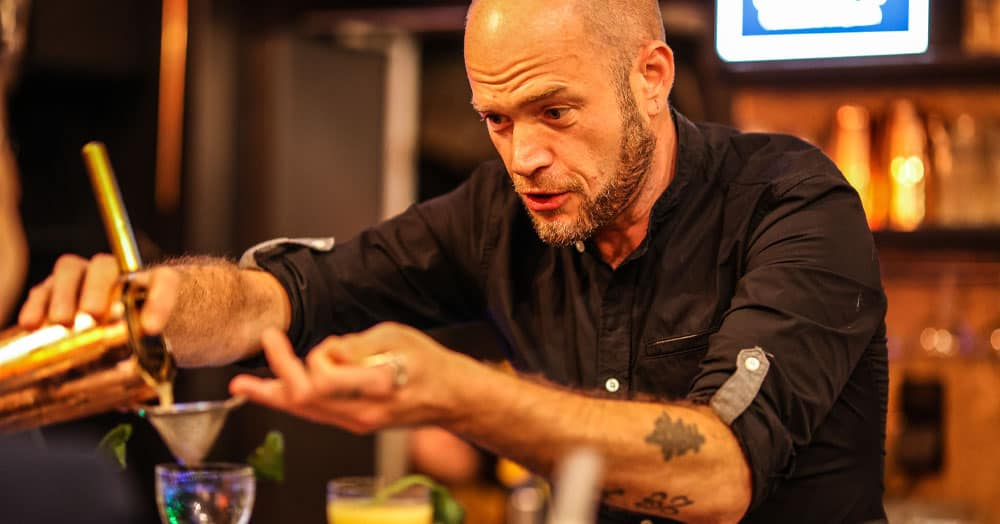 Alex Danger from Rotterdam wins Bobbys National Cocktail Competition 2020 📷 Rutger Geerling