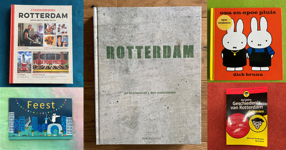 Five Books about Rotterdam 📷 Anna Soetens