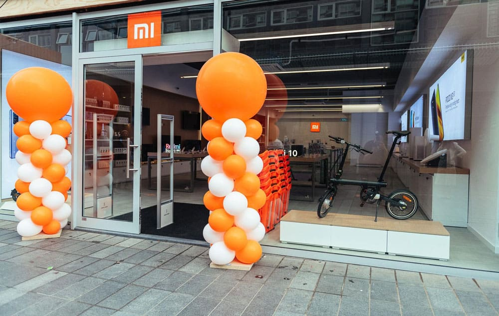 Xiaomi opens first physical Benelux store in Rotterdam