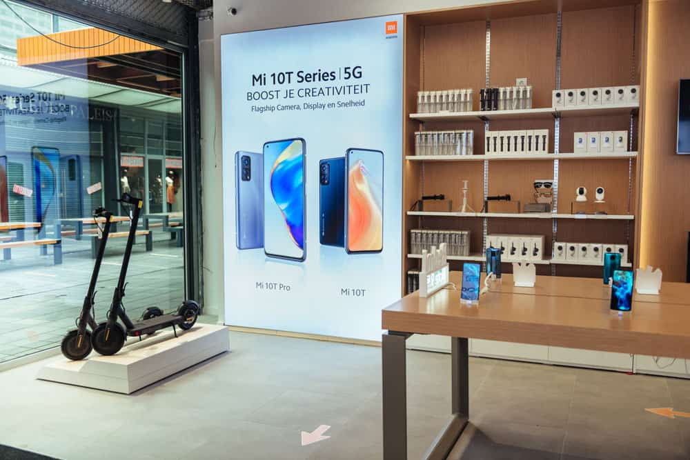 Xiaomi opens first physical Benelux store in Rotterdam 📷 David Stegenga