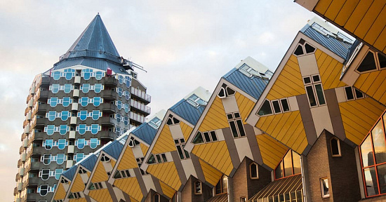 The weird nicknames of Rotterdam's iconic buildings