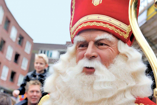 Sinterklaas arrives in Leidschendam in 2010 📷 jehoede
