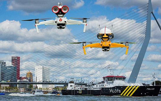 Digital Port Day Rotterdam to feature talking Drones