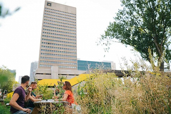 Five Sustainable hotspots in Rotterdam 📷 Adrienne Wildeman